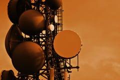 Tour de transmissions Photographie stock libre de droits