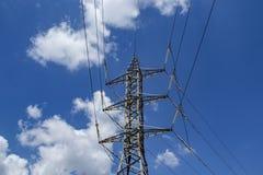 Tour de transport d'énergie Image stock