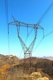 Tour de transport d'énergie Photo stock
