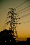 Tour de transport d'énergie Images stock