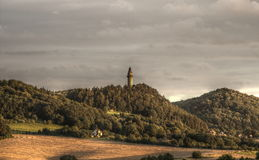 Tour de Truba dans Stramberk Images stock