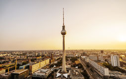 Tour de TV à Berlin Image stock