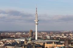 Tour de TV de Hambourg Allemagne Photos libres de droits