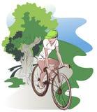 Tour de vélo Photographie stock libre de droits