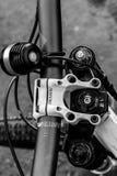 Tour de vélo de montagne Image libre de droits