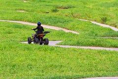 tour de vélo en nature Images libres de droits