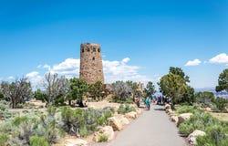 Tour de wath de point de vue et d'ancietn de vue de désert Point de repère célèbre de parc national de Grand Canyon, Arizona, Eta image stock