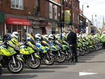 Tour De yorkshire  policing Stock Photo