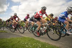 Tour De Yorkshire 2018 Stage 2 Womens Race, Adwick upon Dearne, Royalty Free Stock Photo