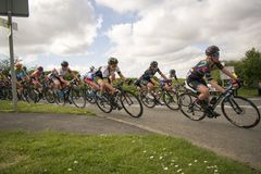 Tour De Yorkshire 2018 Stage 2 Womens Race, Adwick upon Dearne, Stock Photos