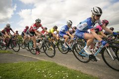 Tour De Yorkshire 2018 Stage 2 Womens Race, Adwick upon Dearne, Royalty Free Stock Image