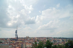 Tour de Zizkov Photo libre de droits