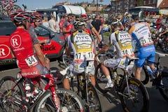 Tour of Denmark at start Stock Photo
