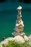 Tour des cailloux Photo libre de droits