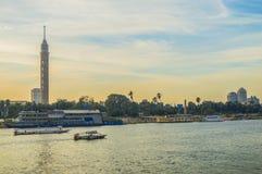 Tour du Caire Photo stock