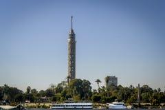 Tour du Caire TV Photo libre de droits