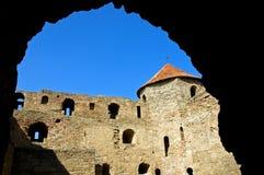 Tour du château antique Photographie stock libre de droits
