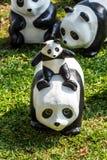 Tour du monde de 1600 pandas Image libre de droits