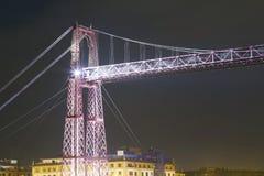 Tour du pont de Vizcaya, patrimoine mondial de l'UNESCO Photographie stock