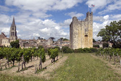 Tour du Roy in St. Emilion, Frankreich Stock Foto