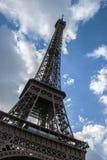 Tour Eiffel à l'angle abstrait Photo libre de droits