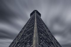 Tour Eiffel à Paris Photos stock