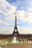 Tour Eiffel à Paris images libres de droits