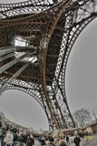 Tour Eiffel à Paris Images libres de droits