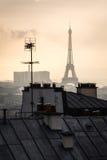 Tour Eiffel à Paris, capital de la France Images libres de droits