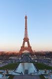 Tour Eiffel à Paris France image libre de droits