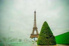 Tour Eiffel à Paris, France Image libre de droits