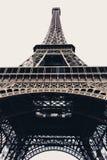 Tour Eiffel à Paris, France - verticale Images libres de droits
