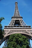 Tour eiffel. Downside view of eiffel tower, Paris Royalty Free Stock Photo