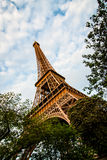 Tour Eiffel @ sunset Royalty Free Stock Photography
