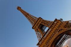 Tour Eiffel au crépuscule Images libres de droits