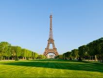 Tour Eiffel au soleil Image libre de droits