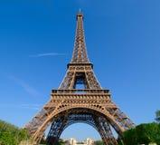 Tour Eiffel d'angle large Photos libres de droits