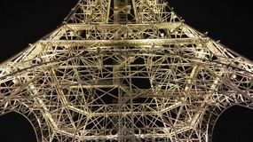 Tour Eiffel dans la ville de Nantong Haimen (Jiangsu, Chine) photo stock