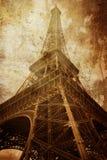 Tour Eiffel de cru Photos stock