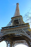 Tour Eiffel de dessous lui Image libre de droits
