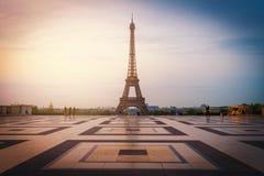Tour Eiffel de Paris Photo libre de droits