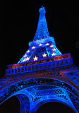 Tour Eiffel de Paris Images stock