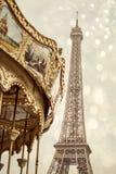 Tour Eiffel de Paris Photo stock