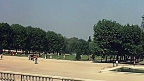 Tour Eiffel de Paris banque de vidéos