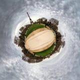 Tour Eiffel de planète Photo libre de droits