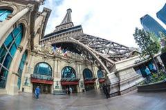 Tour Eiffel Las Vegas photographie stock