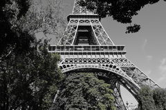 Tour eiffel NB Stock Photography