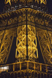 Tour Eiffel at night Stock Photo