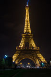 Tour Eiffel in the night Stock Images