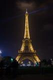 Tour Eiffel in the night Royalty Free Stock Photo